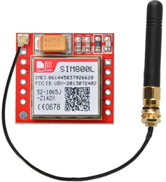 SIM800L GSM Module with 2dBi Duck Antenna